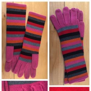 GAP stripy winter gloves